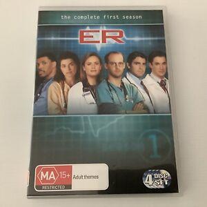 ER Season 1 DVD Australian Release Medical Drama Series Region 4