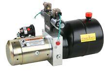 12V Elektropumpe 200bar 2x Magnet Ventil  Hydraulikpumpe 1,5kW  HP12W2J  02476