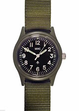 MWC Classic 1960S/70s Matt Olive Drab Euro Pattern Quartz Watch NEW BOXED