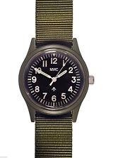 MWC Classic 1960S/70s Matt Olive Drab Euro Pattern Quartz Watch NEW BOXED