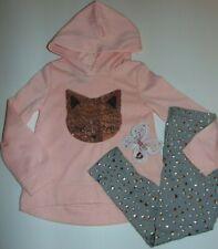~NWT Girls BTWEEN Cat & Stars Hoodie Outfit! Size 5 Super Cute:)!