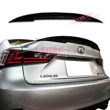 Carbon Fiber Lexus 2014~2019 IS IS250 IS300 IS350 sedan P type trunk spoiler ◎