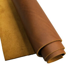 Full Grain Leather 5-6oz (2.0mm) Thick Pre-Cut Cowhide Crafting Art Leather