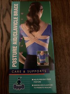 Oppo Medical Elastic Posture Aid /Clavicle Brace (Unisex; Natural), SMALL 2075