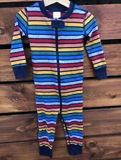 Hanna Andersson Boys Striped Organic Pajama Size 85 2T