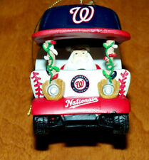 WASHINGTON NATIONALS 2018 BULLPEN CART Christmas Holiday Ornament BOXED & NEW