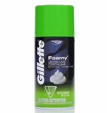 Gillette Foamy Shaving Cream Lemon-Lime 11 oz (Pack of 3)