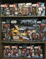 Disney Star Wars Rebel U-Wing Fighter With X-Wing Pilots & Ground Crew Lot Of 15