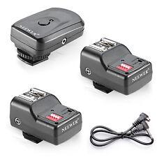 16 channe Wireless Remote FM Radio flash Speedlite Trigger w/2.5mm PC 2 receiver
