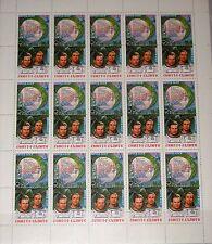 Russia Unione Sovietica 1981 KLB 5122-23 MS 4991-92 Salyut Soyuz 6 Flight Space MNH