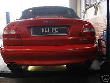 Custom Built VOLVO C70 STAINLESS DUAL EXIT CAT-BACK EXHAUST