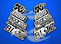 RACE TUNING SPONSOR DOOR STACK - DECALS STICKERS GRAPHICS
