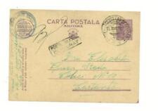 1945 Romania Censored Army postal Stationery Card cover