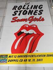 ROLLING STONES 2011 ALBUM orig. Concert-Tour Poster 168 x 118 cm, sondergrösse