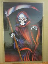 vintage Death Dealer 1989 skeleton skater  Poster 2169