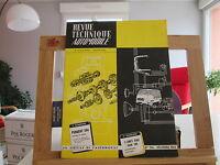 REVUE TECHNIQUE AUTOMOBILE N°236 DECEMBRE 1965 TBE PEUGEOT 204