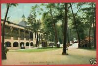 CEDAR POINT OHIO OH COLISEUM & GROVE ALEXANDER POSTCARD
