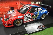 PORSCHE 911 996 GT3 RS #301 RECARO 1/18 AUTOart CI-IMAGEWEAR voiture miniature