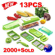 NEW 13 in 1 Food Slicer Dicer Nicer Vegetable Fruit Peeler Chopper Cutter