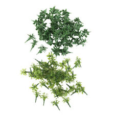 100 Stück-Grün-Landschafts-Landschaftsmodell-Gras mit