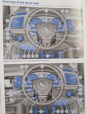 Genuine Vw Sharan Manual Owners Manual Cartera 2010-2015 Pack A-2