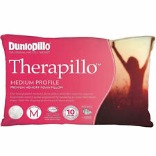 Tontine- Dunlopillo Therapillo  Medium Profile  Memory Foam Pillow RRP $169.95