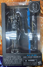 "Open box Star Wars IG-88 Black Series 6"" Blue Box #15 Empire Strikes Back"