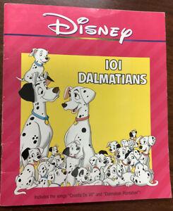 101 DALMATIANS vintage DISNEY Children's Book (1990)The Walt Disney Company