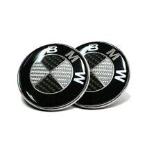 82mm + 74mm Auto Emblem Für BMW Vorne Motorhaube Heckklappe Hinten Kofferraum