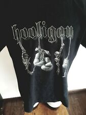 Tee HOOLIGAN XL football fight collection rare dead stock DS supreme Hools t-shi
