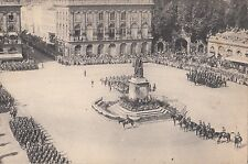 CE92.Vintage Postcard. Military Parade, Nancy.France