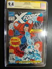 X-FORCE #10 9.4 SS FABIAN NICIEZA / DEADPOOL CAMEO / EXTERNALS! 1992