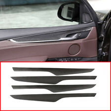 Real Carbon Fiber For BMW X5 F15 2014-2018 Door Panel Moulding Trim