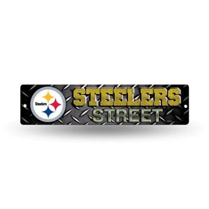 "Pittsburgh Steelers Football 16"" Street Sign Fan Wall Decor"
