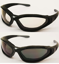 Reactalight Reactions Cruiser Biker Motorcycle Padded Sunglasses Cruiser Bobber