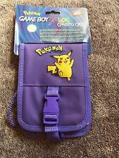 Pochette Violette de protection Game Boy Color Pokémon Neuve