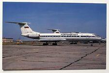 Aeroflot Tupolev TU-134A Postcard