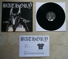 Bathory - Bathory Black Mark 1984 LP