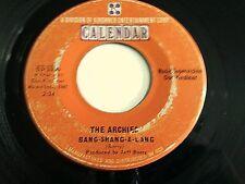 The Archies Bang-Shang-A-Lang / Truck Driver 45 1968 Calendar Vinyl Record