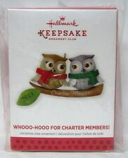 Hallmark 2013 KOC Event Whooo-Hooo For Charter Members Ornament RARE Repaint