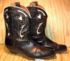 Mid 1950's Vintage GODING Shorty Cowboy Boots Cloth Pulls Larger Size MAKE OFFER