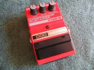 DOD FX80-B Compressor Sustainer Guitar Effect Pedal - Vintage ~ Made In USA