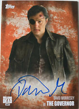 The WALKING DEAD - David Morrissey as THE GOVERNOR  RUST Autograph Card No.54/99