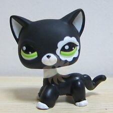 Hasbro Littlest Pet Shop Collection LPS Toys Short Hair Cat Blythe Black Rare A1