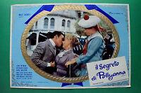 T02 Fotobusta El Secreto Por Pollyanna Walt Disney Jane Wyman Richard Egan Rara