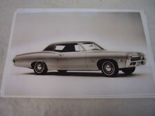 1968 CHEVROLET  IMPALA 2DR HARDTOP  11 X 17  PHOTO  PICTURE