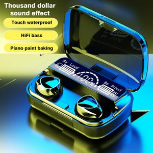 Bluetooth Headphones Wireless Earphones Earbuds TWS Ear iPhone Stereo Samsung.