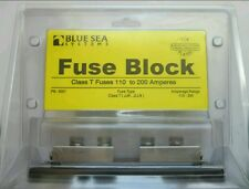 NEW BLUE SEA SYSTEMS 5007 FUSE BLOCK FOR CLASS T FUSES 110 TO 200 AMPERES 2/0AWG