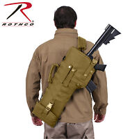 New Rothco 15911 MOLLE Compatible 600D Coyote Brown Tactical Rifle Scabbard