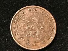 T2: Netherlands 1/2 Cent 1909.